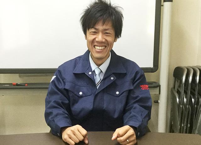 サービス課/竹原 2015年入社