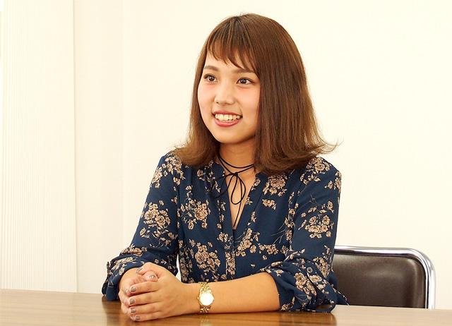 庶務課/箕島 2015年入社
