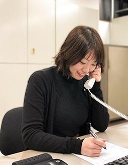 総務課/七野 2017年入社